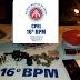 Policiais do 16°BPM apreende dois homens com arma de fogo e drogas durante abordagem no Bairro da Santa em Serrinha