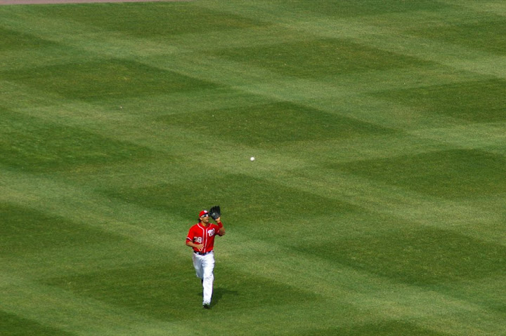 Morse on the field