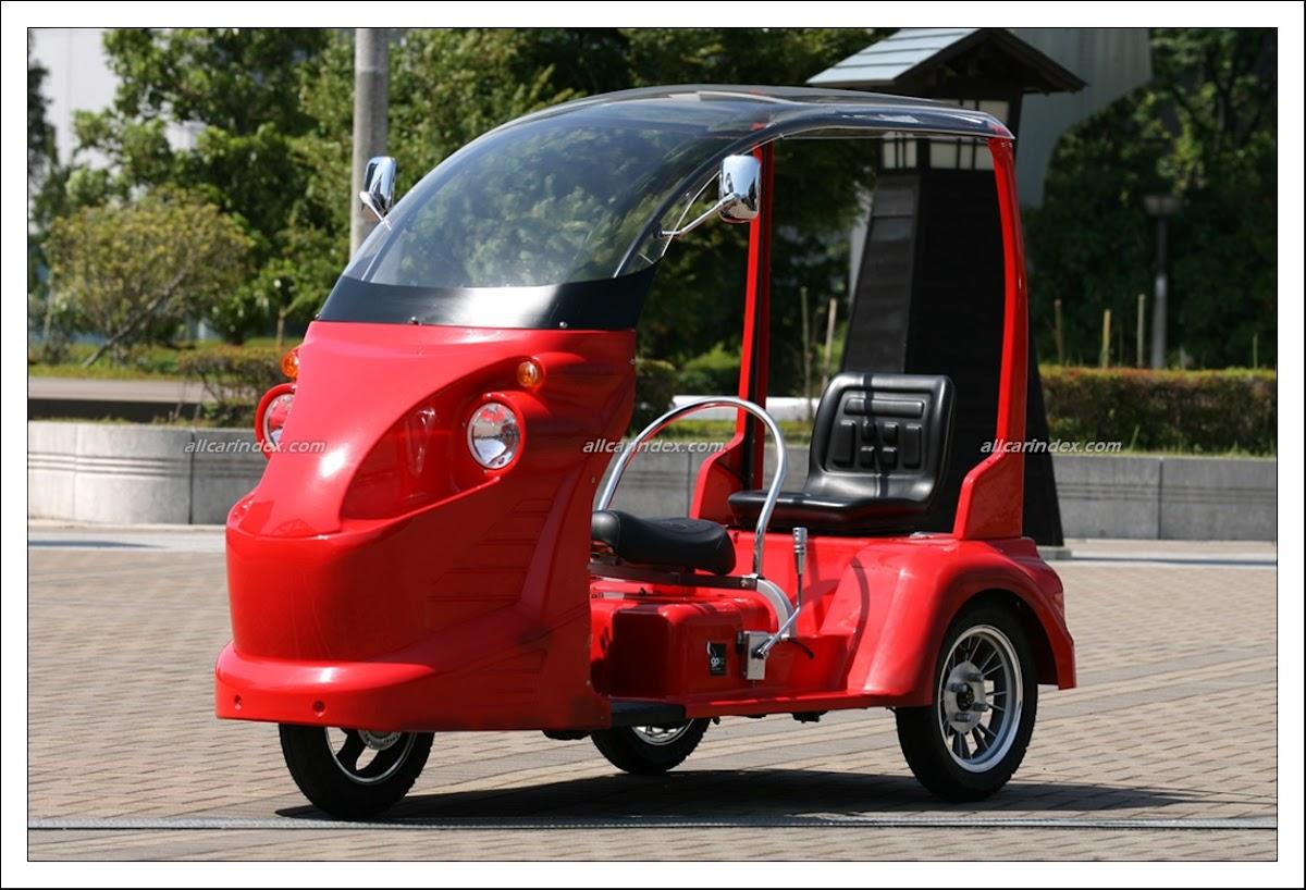 Electric Three Wheeler Japan >> Rena - X3