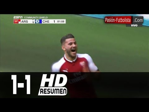 [Video] Arsenal vs Chelsea 1-1 (2-1 Penalty) – Highlights & All Goals (Community Shield) 06-08-2017