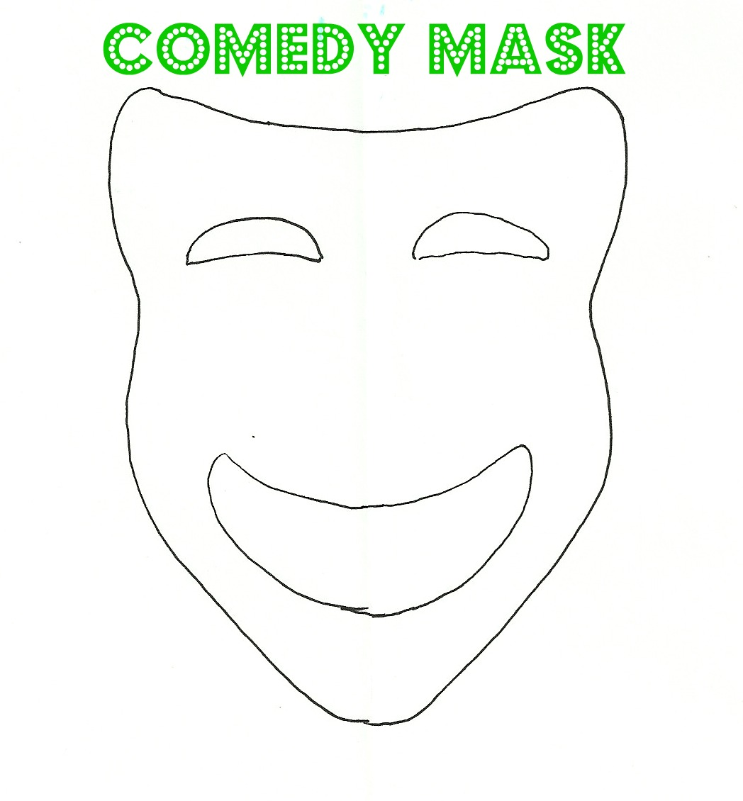 Full Face Mask Outline...