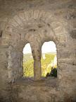 Ventana geminada en la Ermita de Santa Quiteria y San Bonifacio