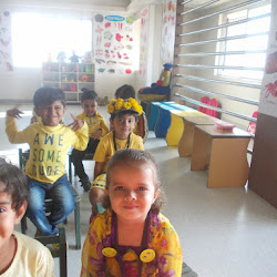 2014-12-02 Yellow Day at Pre-Nursery