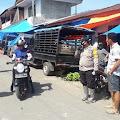 Operasi Yustisi, Personel Polsek Sinjai Barat Sasar Pasar Tradisional Bonto Salama