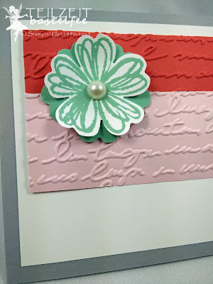 Stampin' Up! - In{k}spire_me #210, Color Challenge, Birthday, Geburtstag, Flower Shop, Express Yourself, In Worte gefasst, Prägeform Schönschrift, Embossing Folder Pretty Print, Stanze Stiefmütterchen, Punch Pansy