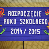 Rozpoczcie roku szkolnego2014/2015
