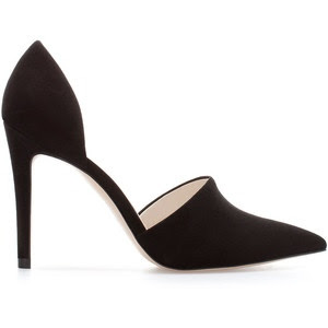 Vince Claire d'Orsay Pump in Black Calf Look Alike for Less