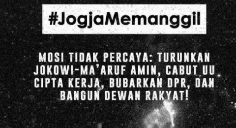 Ade Armando Sebut Aksi #JogjaMemanggil Dungu Tingkat Dewa: Turunkan Jokowi?