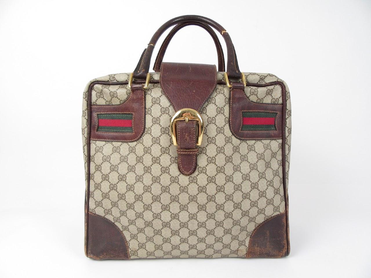 Gucci Vintage Monogram Travel Bag