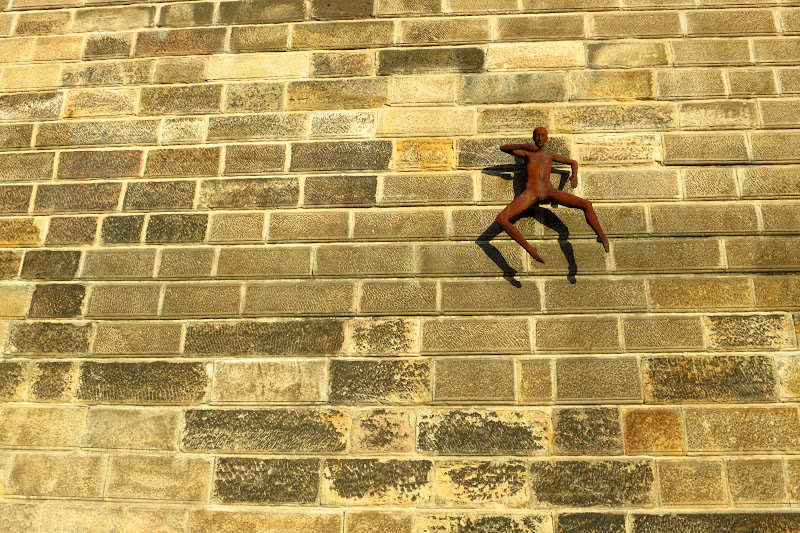 ballerina on the wall