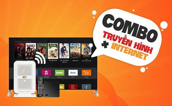 Gói cước combo internet và truyền hình tại Hà Đông Tiết Kiếm thêm 30%