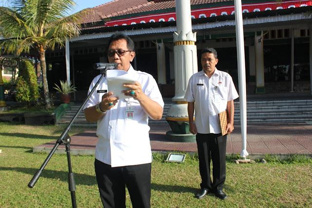 ASN Klaten Gelar Apel Pagi Hari Jadi Ke 68 Provinsi Jateng