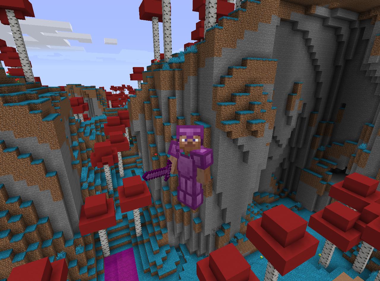 *Minecraft Hallow Biome*