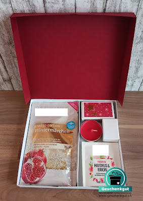 Geschenk Geschenkverpackung Set Weihnachtsgeschenk