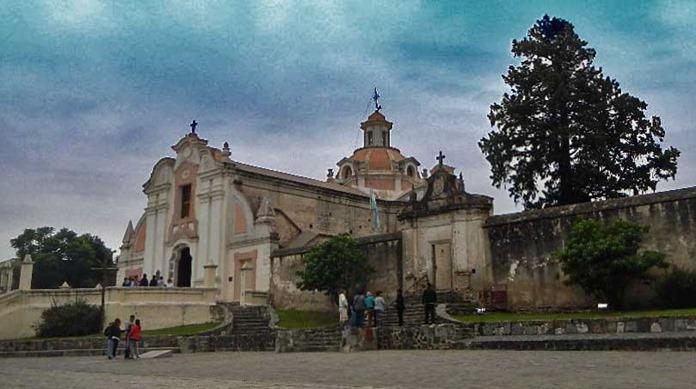 Jesuitenkirche in Alta Garcia