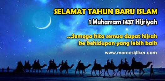 Tahun Baru Islam 1 Muharram 1437 Hijriyah, Tahun Baru Hijriyah 2015