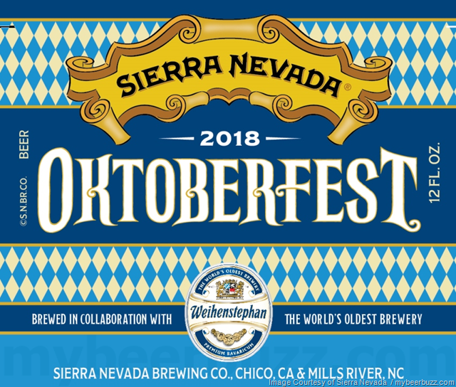 Sierra Nevada & Weihenstephan Collaborate On Oktoberfest 2018