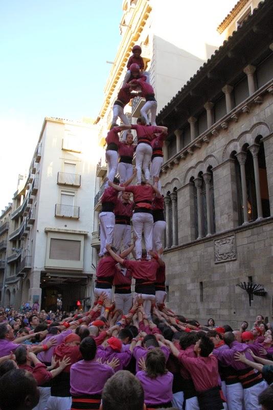 19è Aniversari Castellers de Lleida. Paeria . 5-04-14 - IMG_9525.JPG