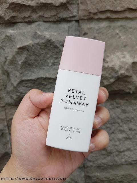 Review Althea Korea's Petal Velvet Sunaway