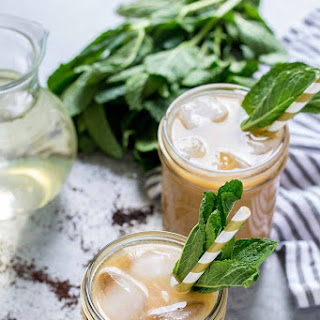 Vanilla Mint Iced Coffee Recipe