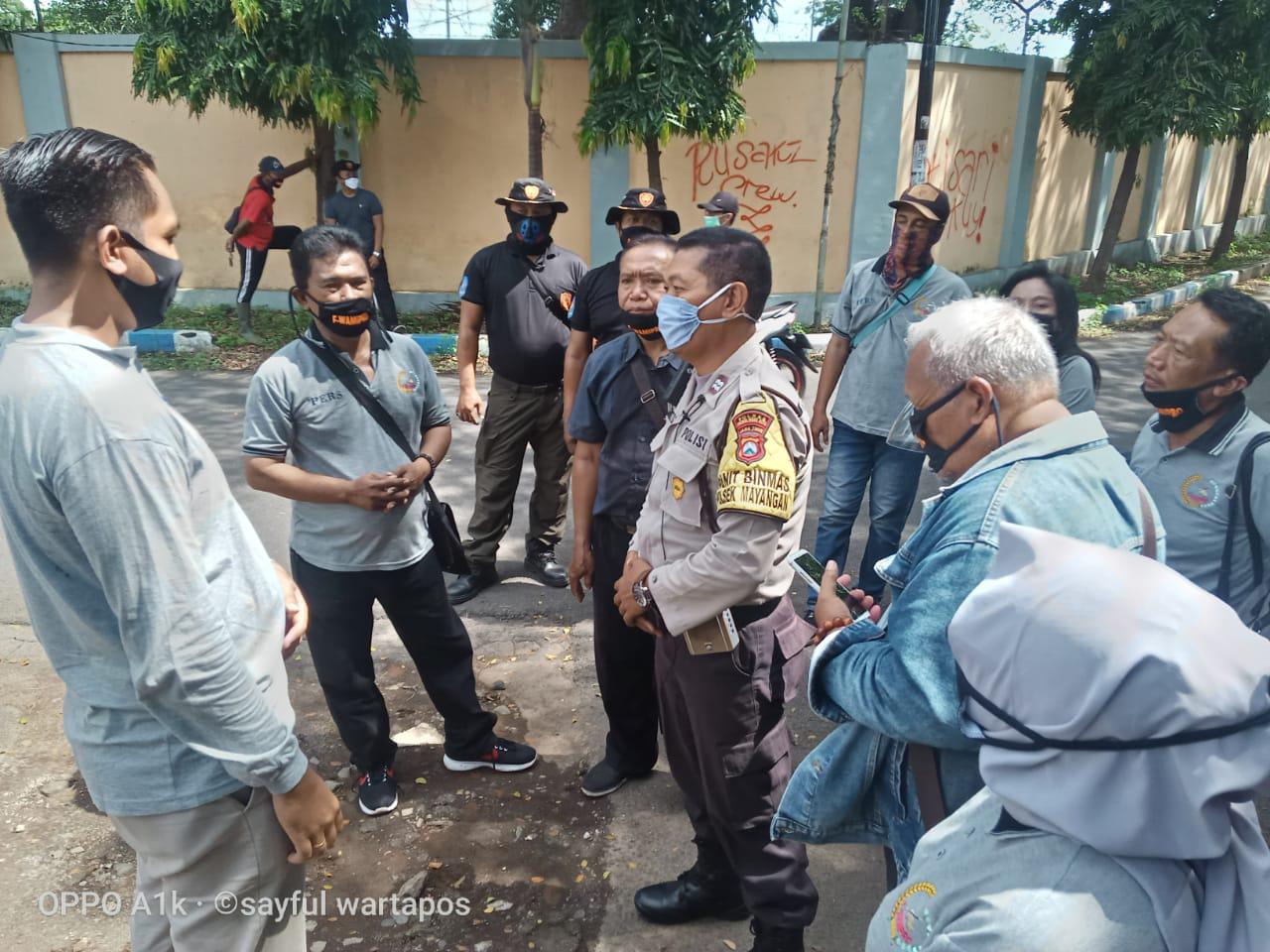 F-Wamipro Lakukan Penyemprotan Disinfektan dan Bagikan Masker ke Masyarakat