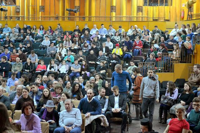 005 Avva Justin Parvu si Sfintii inchisorilor (Teatrul Luceafarul, Iasi, 2014.03.19)