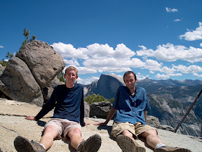 With Scott at Yosemite Point