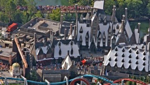 O Mundo mágico de Harry Potter da Universal completa 10 Anos