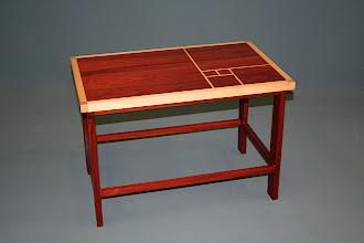 Photo: Fibonacci table - Bloodwood,  Silver Ash John Elkins