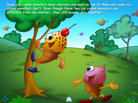 Ice Cream Monsters another page