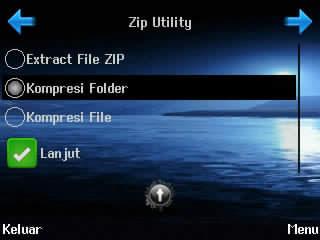 ubah file zip ke jar, kompres folder