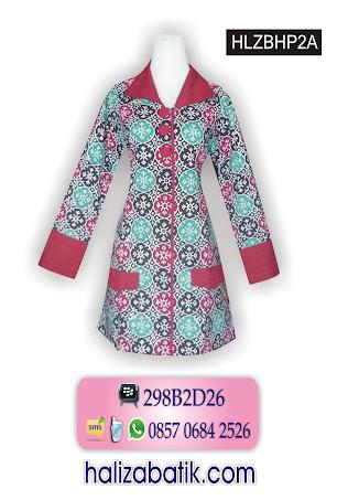HLZBHP2A Model Blus, Baju Blus, Blus Batik, HLZBHP2A