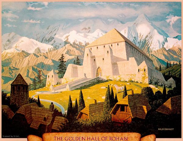 The Golden Hall Of Rohan, Fantasy Scenes 1