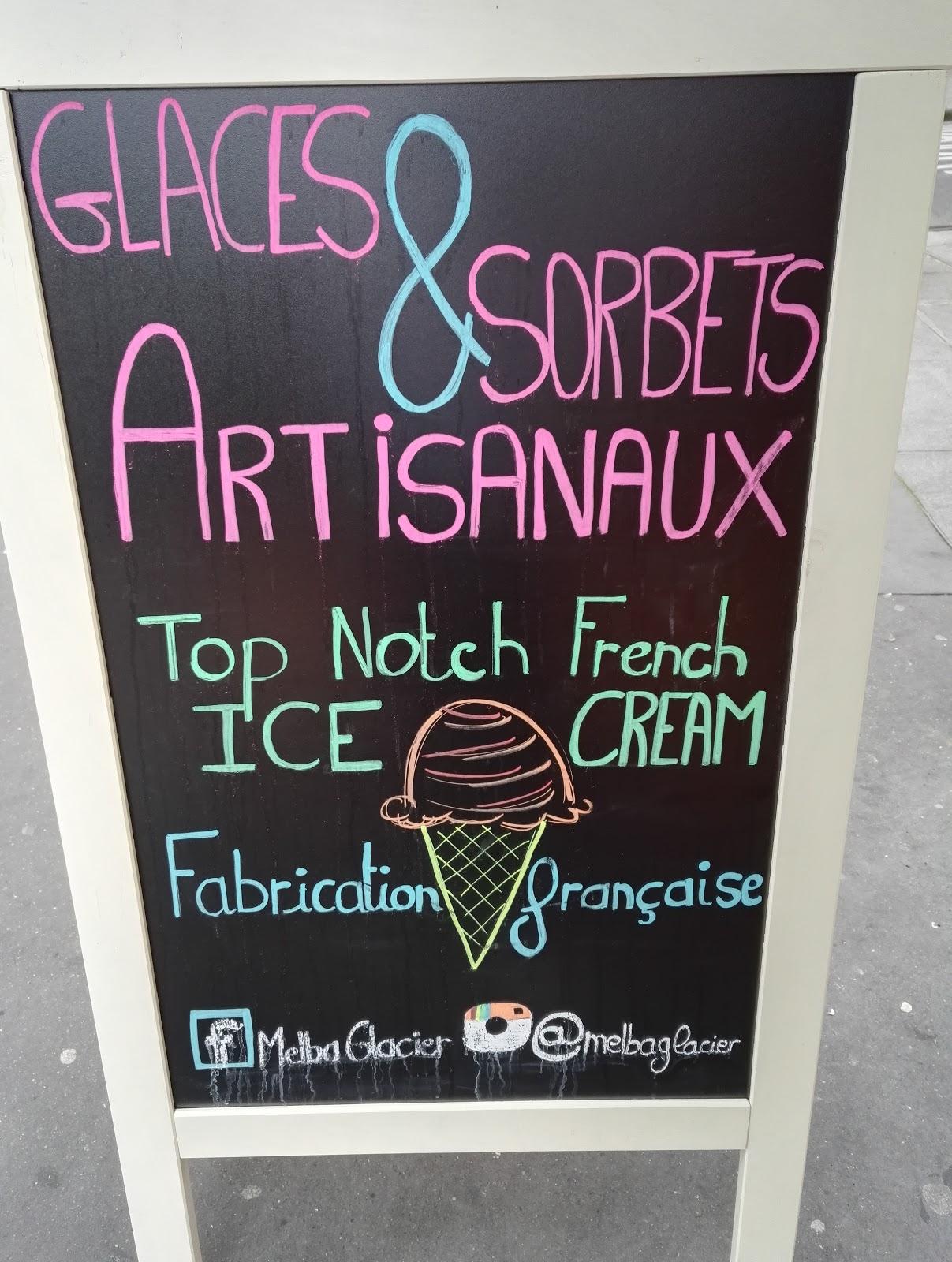 Les tasters melba les meilleures glaces de france for Glace murale pour salon