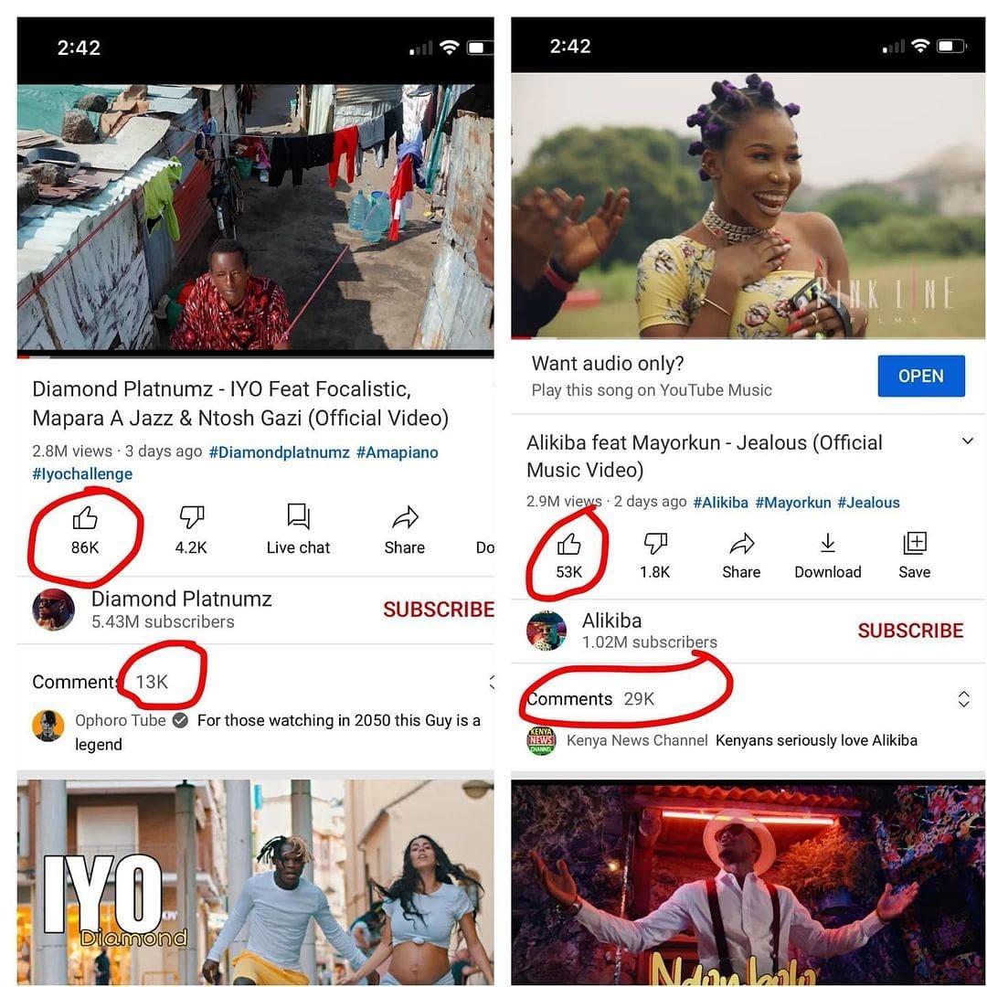 """Mange Kimambi Afunguka Kuhusu Ali Kiba Kumpita Diamond Views Katika Nyimbo zao Mpya...""""Kiba Hajanunua Views"""""""