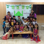 EID CELEBRATION BY SR KG ( 2017-18 ) AT WITTY WORLD, BANGUR NAGAR