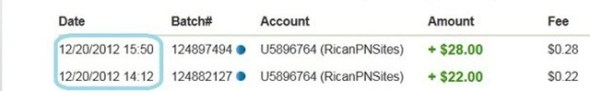 Bukti Pembayaran dari RicanAdFunds 18
