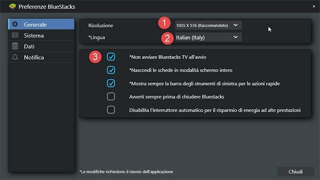 preferenze-bluestacks