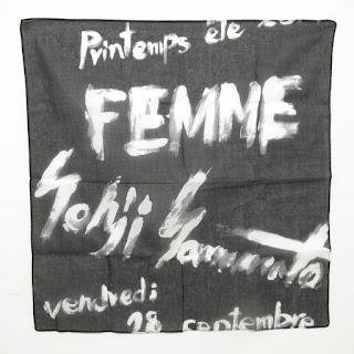 Yohji Yamamoto Handkerchief