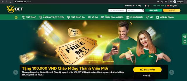 V9BET - Nhà cái cá cược trực tuyến uy tín đẳng cấp top đầu Châu Á