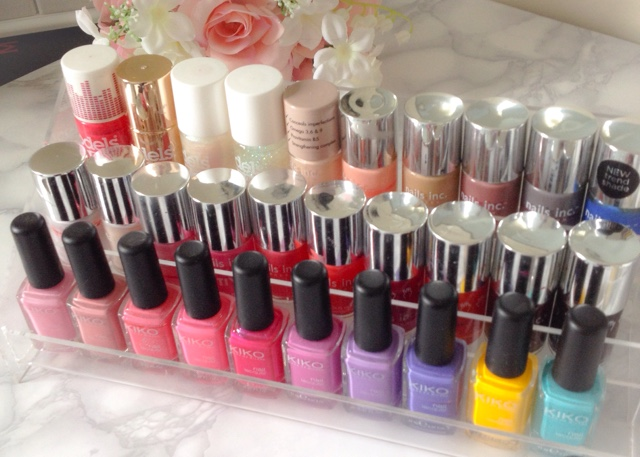 acrylic makeup storage