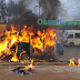 Breaking: Bus Catches Fire On Motion and Burn to Ashes in Osogbo