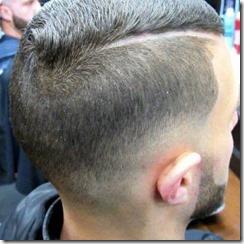 Combover haircut
