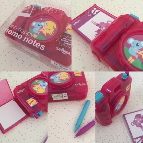 smiggle snap happy memo notes