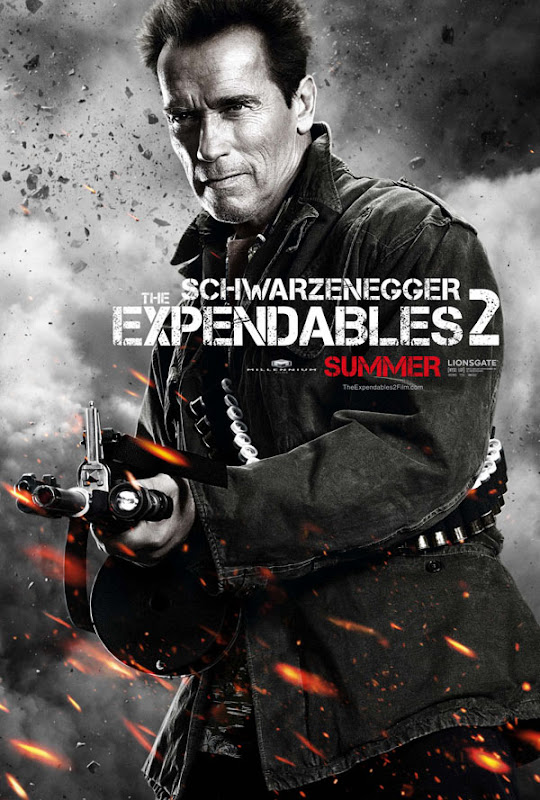 expendables two ver13 xlg The Expendables 2   Galeria de Posters e Trailer.
