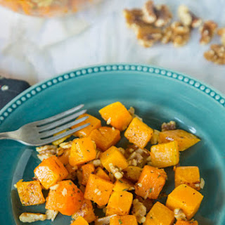 Roasted Butternut Squash with Sage and Walnuts Recipe