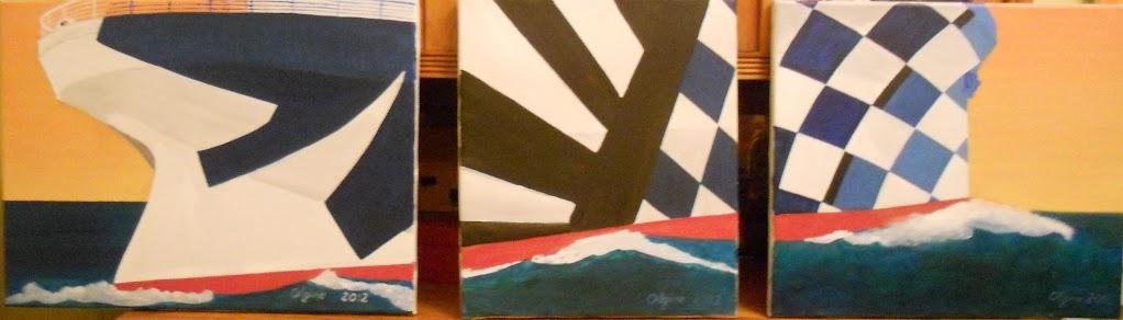 hobby peinture - Peinture maritime : nouveau hobby ? Triptyque%2BMaur%C3%A9tania%2Bdazzlz