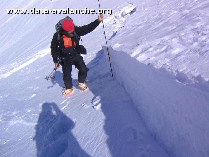 Avalanche Aravis, secteur Roche Perfia, Combe de Grand Cret-Col entre la Roche Perfia et Tete Pelouse - Photo 1