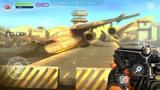 FightNight Battle Royale: FPS Shooter MOD APK + Data File (Unlimited Money) 4
