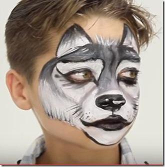 lobo maquillaje 22